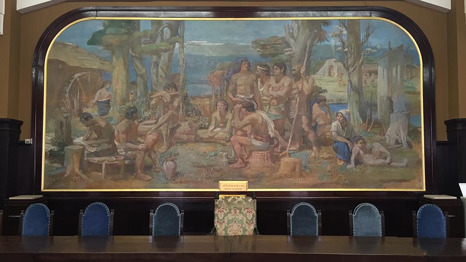 本館-会議室絵画