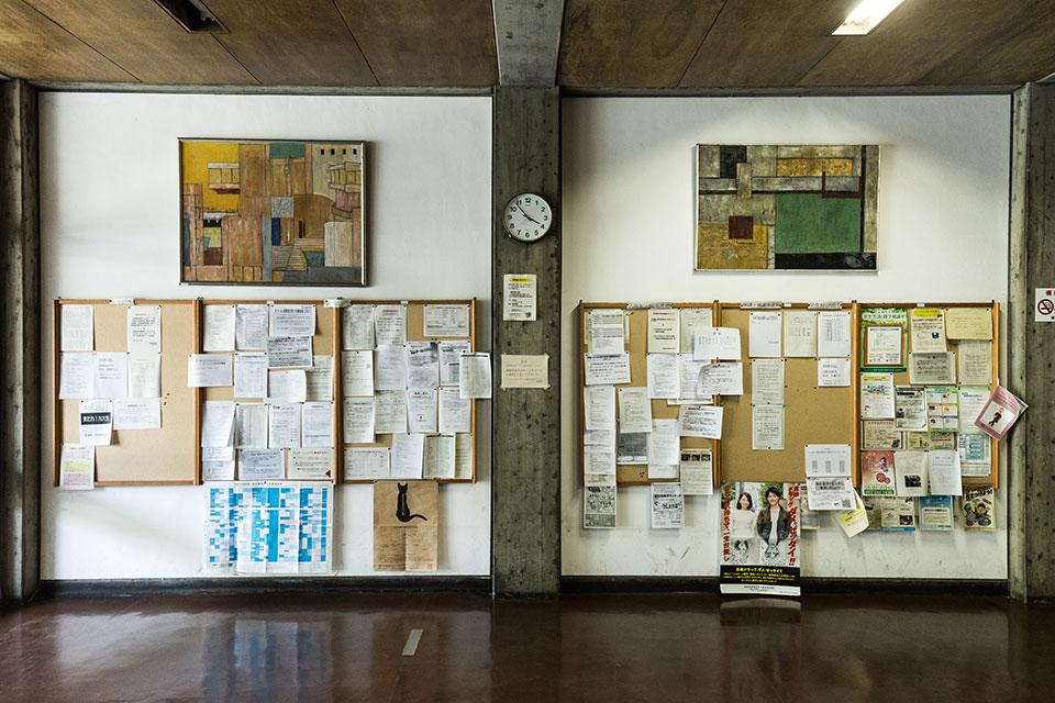 建築学部教室-掲示板