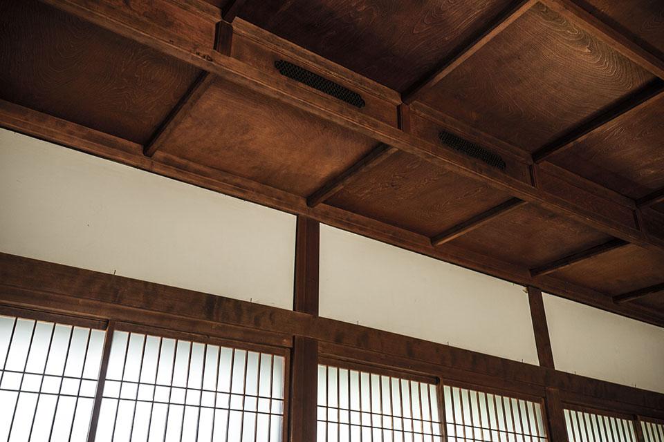 三畏閣-天井-部分