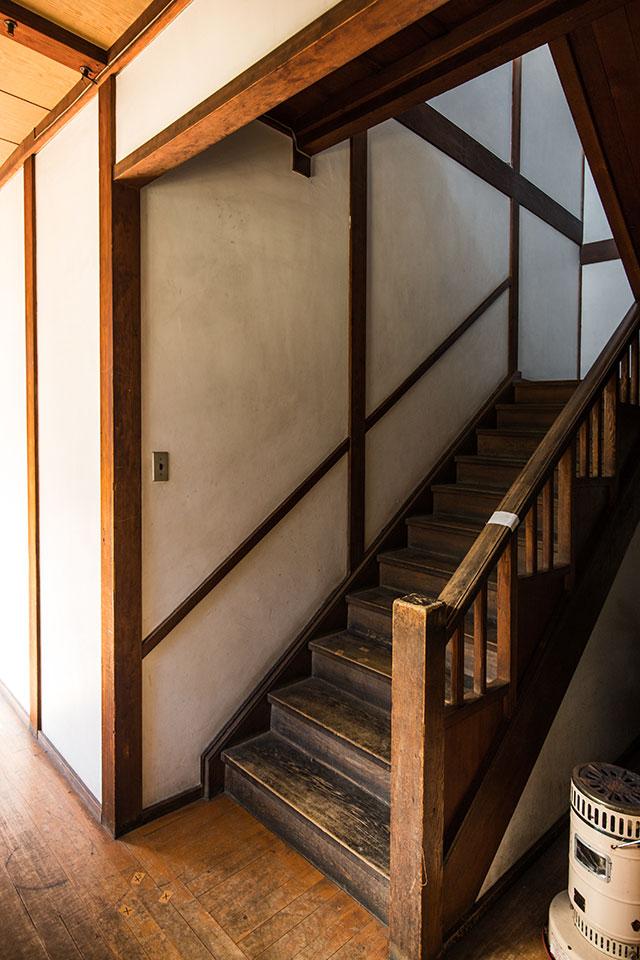 三畏閣-階段