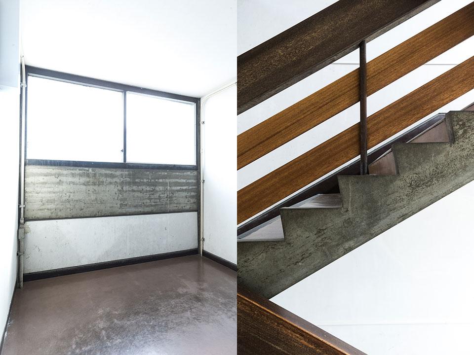 建築学部教室-階段