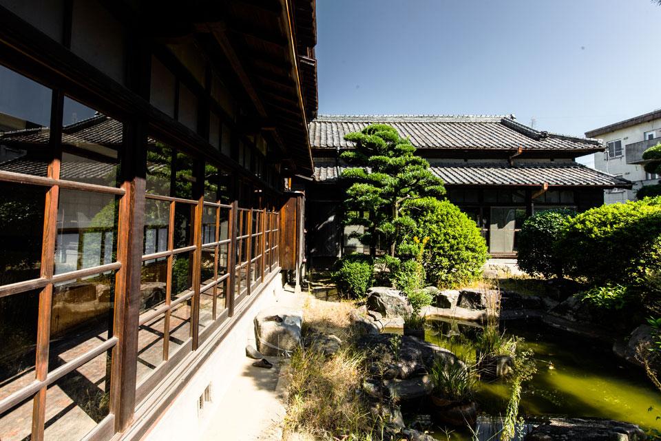 三畏閣-庭園