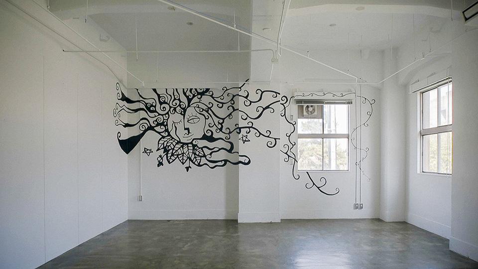 グラミンハウス-壁画1